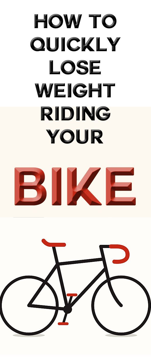 how to lose weight while cycling