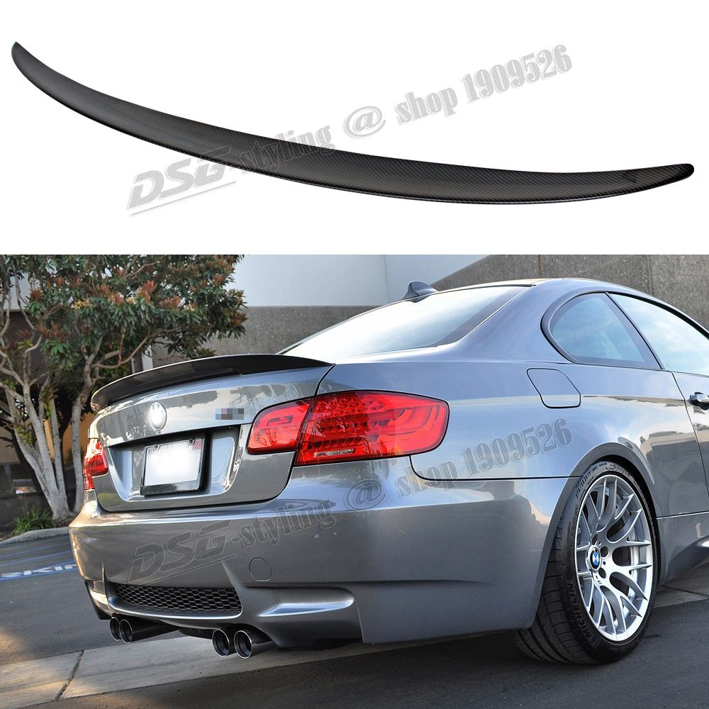 E92 E93 Carbon Fiber Trunk Spoiler Car Wing For Bmw 3 Series