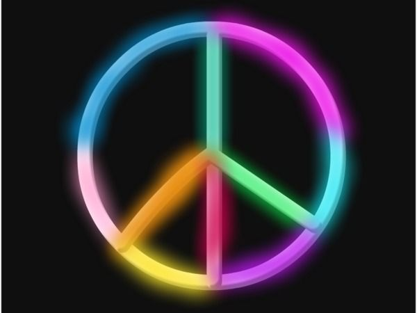 Neon Peace Sign by soccer7000 | PEACE OUT✌ | Peace, Peace art, Pray
