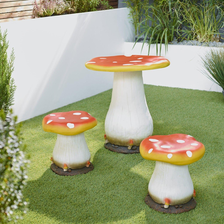 Garden furniture · Toadstool Bistro Set & Toadstool Bistro Set | Garden | Pinterest | Bistro set and Garden ...