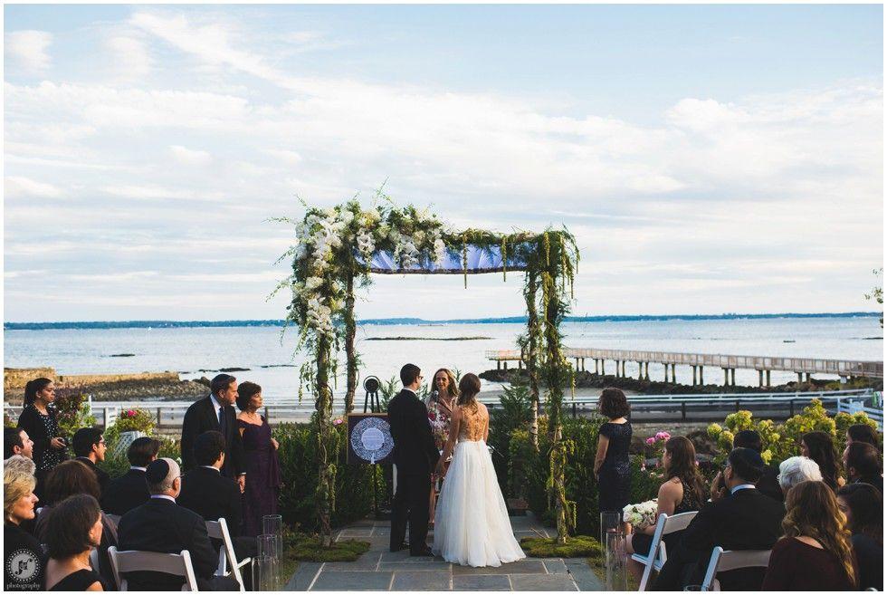 New York Wedding Photographer Coveleigh Club Country Chuppah