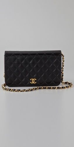 bcfe628e15e6 WGACA Vintage - Chanel Flat Full Flap Bag - $2,079.00 - shopbop.com... damn  I have expensive taste.