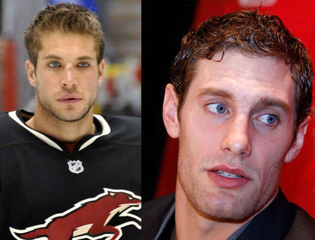 But Hank isn't the only one with eyes that could stop a puck. Meet Taylor Pyatt and Dan Girardi.