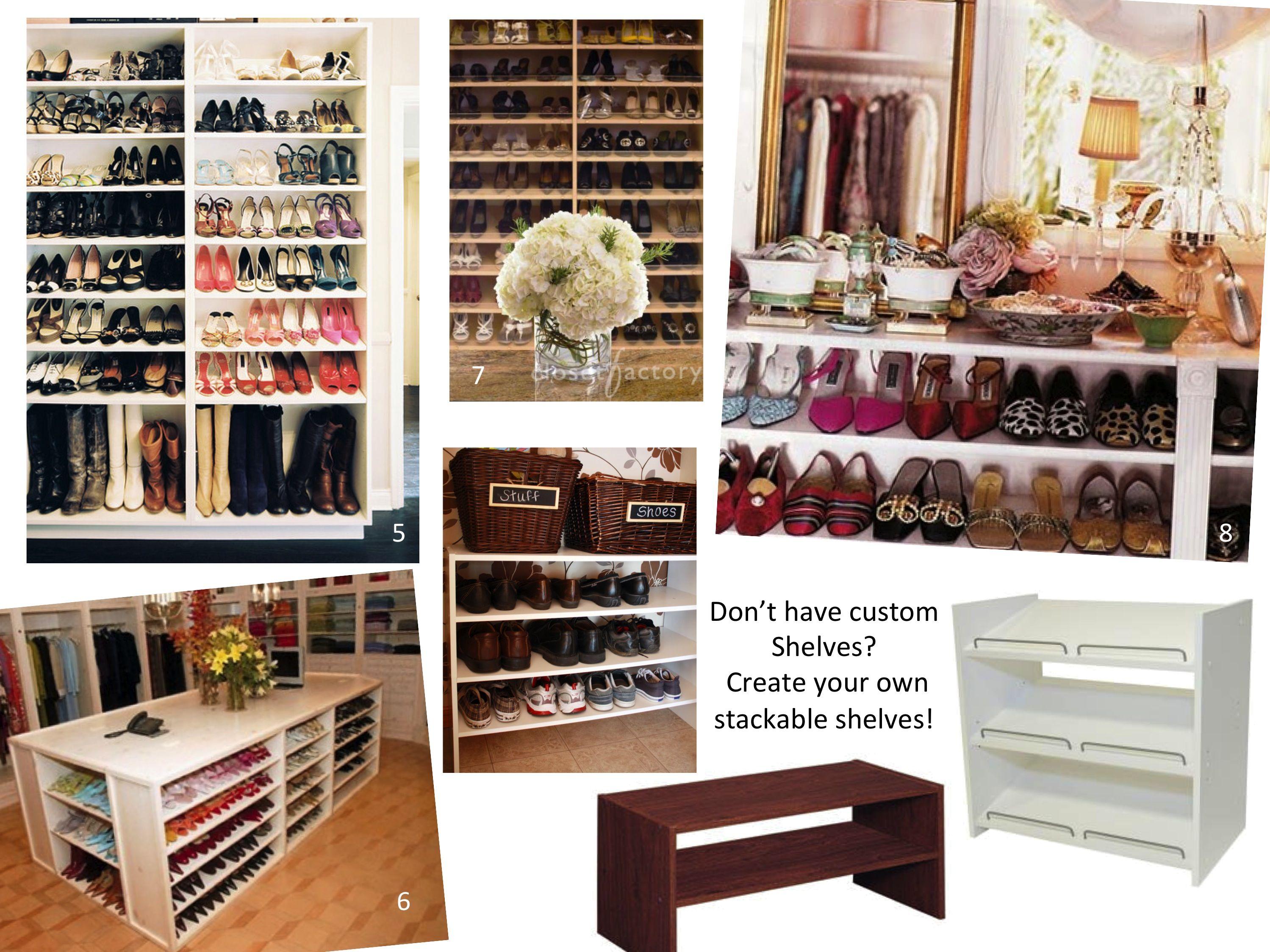 ikea bedroom closet shoe  | Closet Organization Ideas 2998x2248 35 Shoe Organization Ideas I De ...