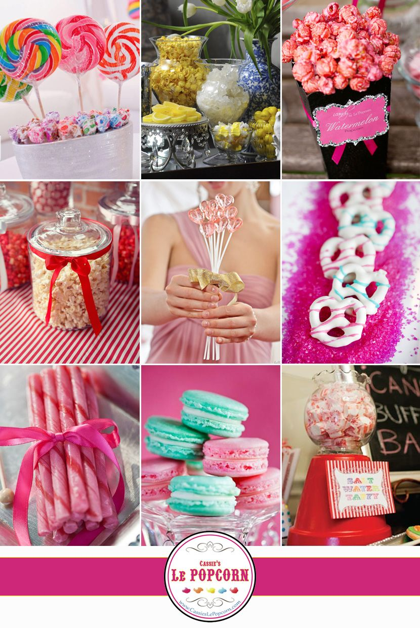 Tasty Treats from Cassie\'s Le Popcorn #wedding #favors #popcorn ...