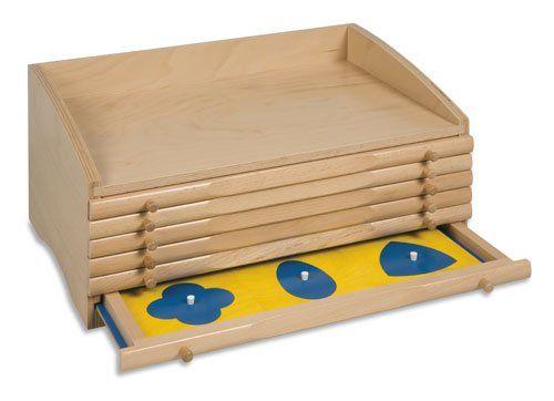 DIY Montessori: Geometric Cabinet | Montessori, Montessori ...