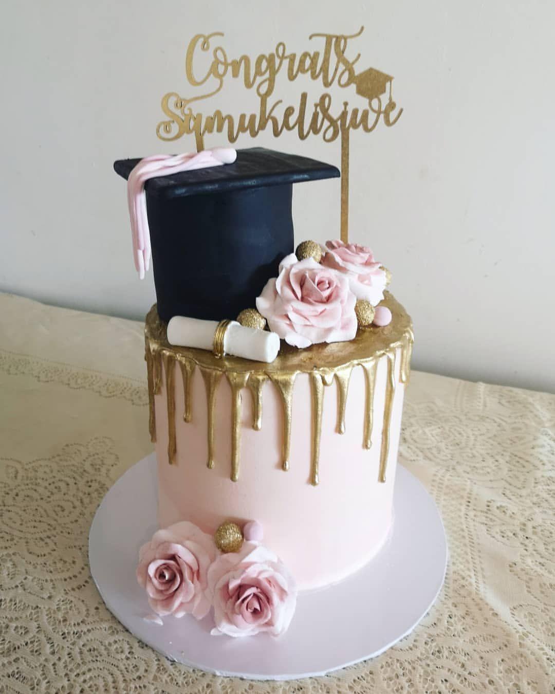 Graduation Drip Cake Google Search In 2020 Graduation Party