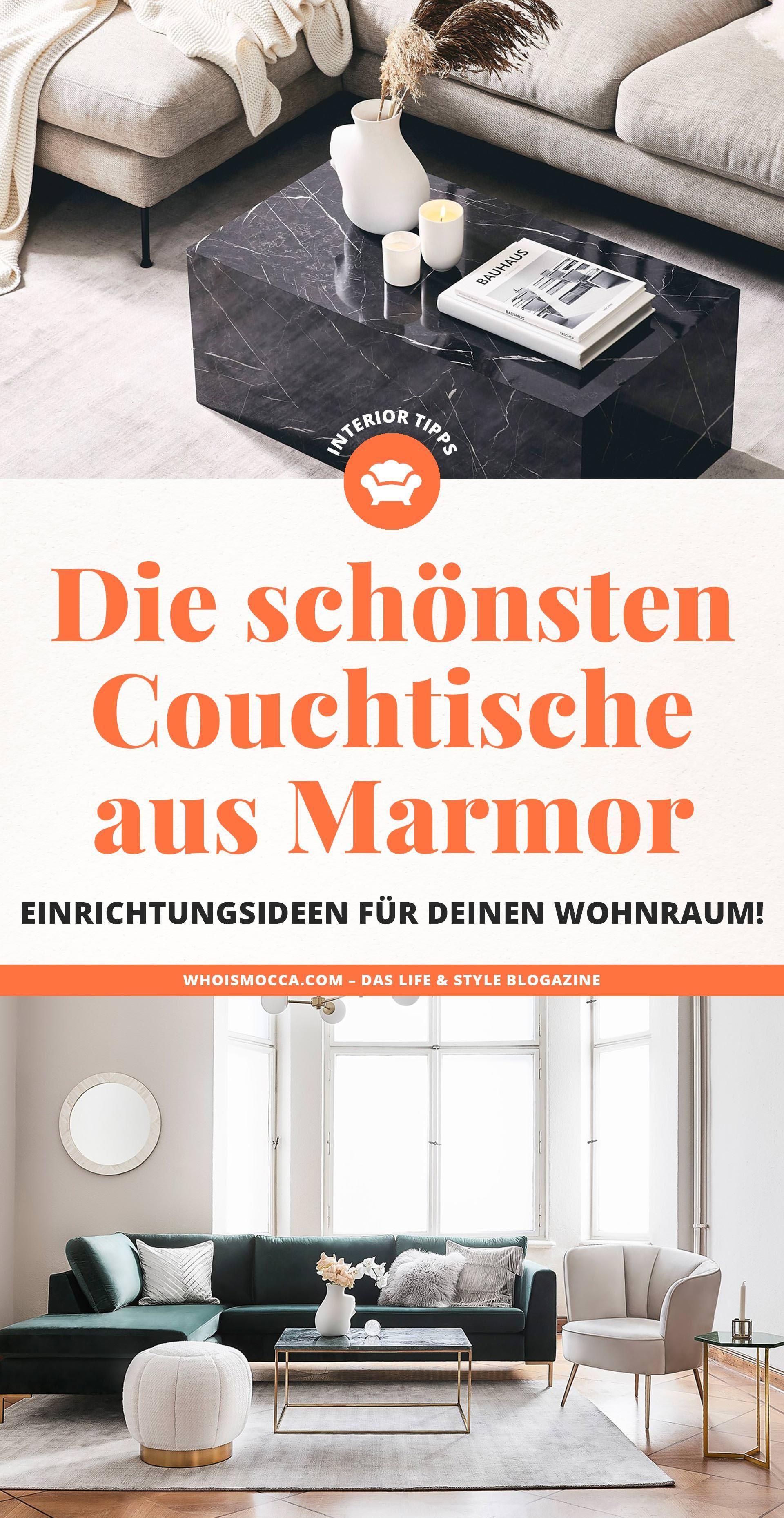 Der Marmor Couchtisch Einrichtungsideen Fur Deinen Wohnraum