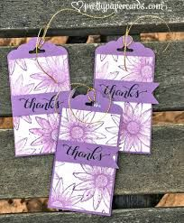 Image result for stampin up perfect blend tags