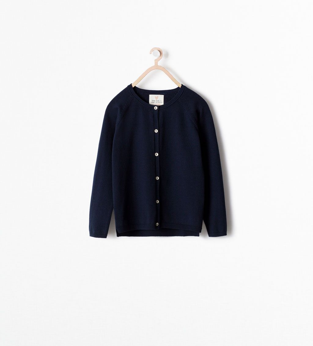 ZARA - KIDS - Basic cardigan