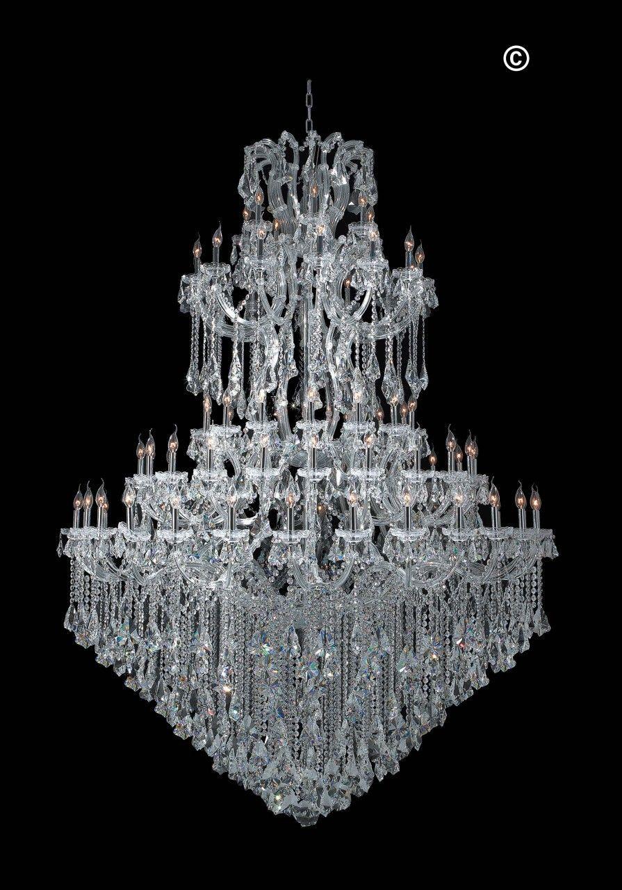 Maria theresa crystal chandelier grande 84 light chrome maria maria theresa crystal chandelier grande 84 light chrome arubaitofo Gallery