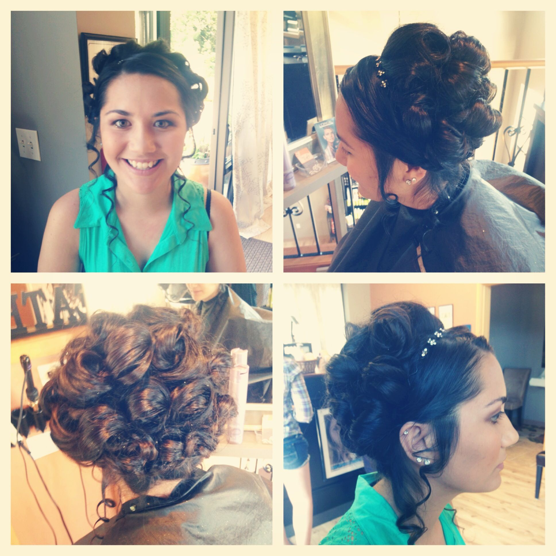 Vintage prom hair inspired by taylor swift good for any special