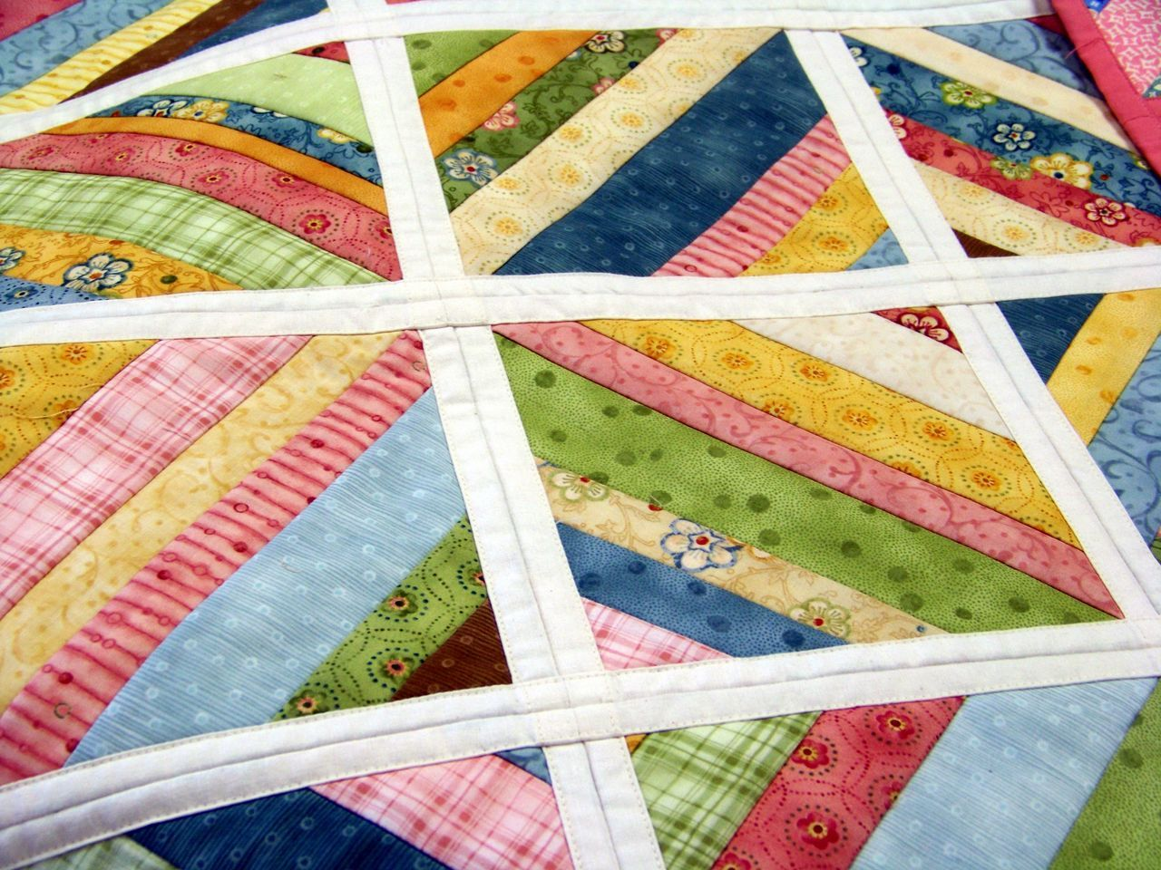 A Quilt As You Go Project Inspiration Attic Window Quilt Shop