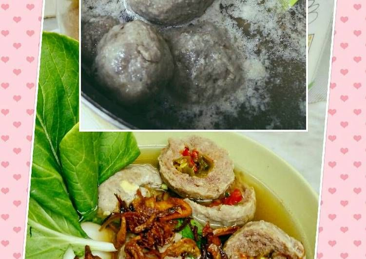 Resep Nge Bakso Yuukkk Keto Oleh Deysi Nathalia Tollaah Resep Bakso Keto Makanan