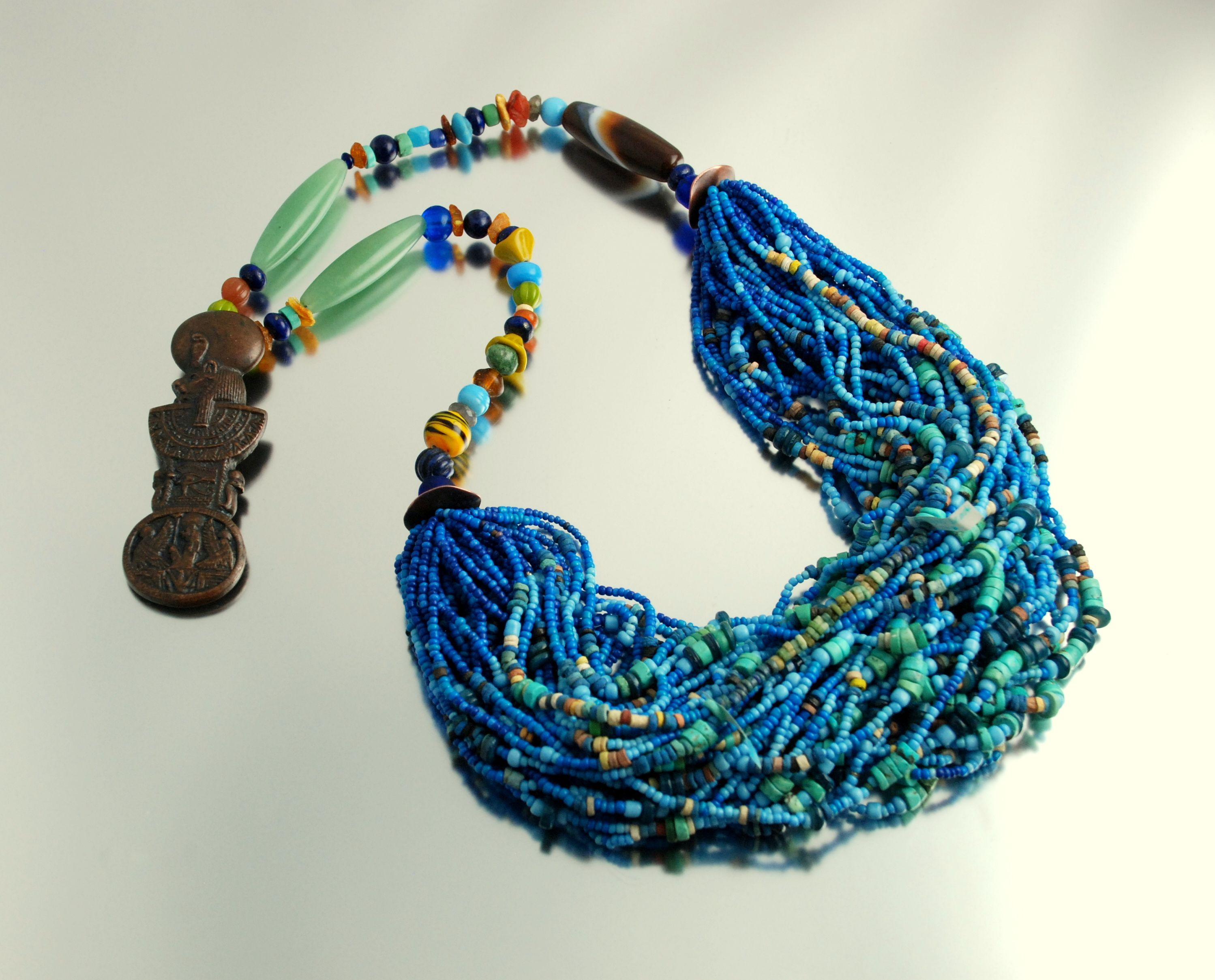 Egyptian Menat necklace - replica of an ancient ceremonial
