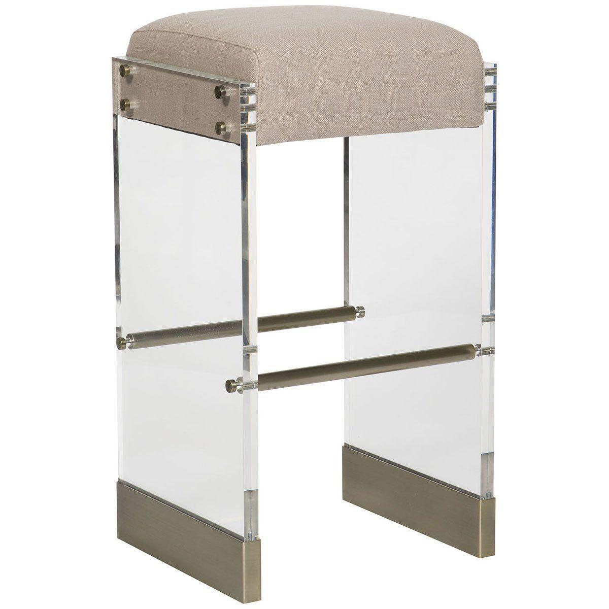 Vanguard Furniture Jake Burlap Bistro Metal Base Bar Stool Vanguard Furniture Bar Stools Cool Bar Stools