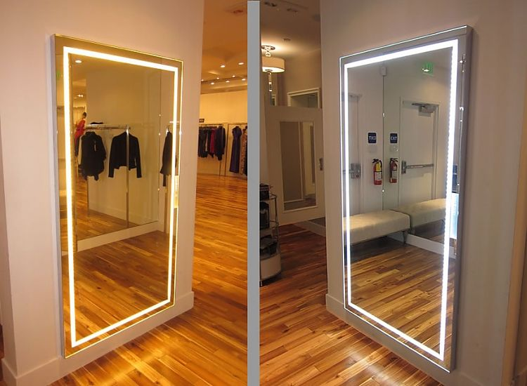 Icon International Scenesetter Triple Lightingmode Fitting Room Rhpinterest: Bedroom Mirror With Lights At Home Improvement Advice