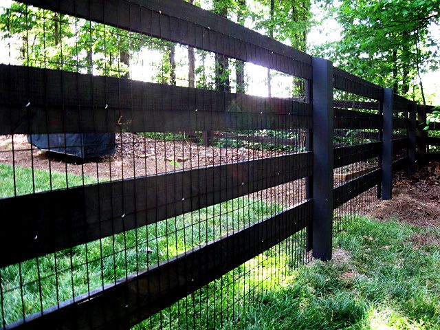 Ok Here S What I Want The Goat Run Fence To Look Like Backyard Fences Front Yard Fence Fence Landscaping