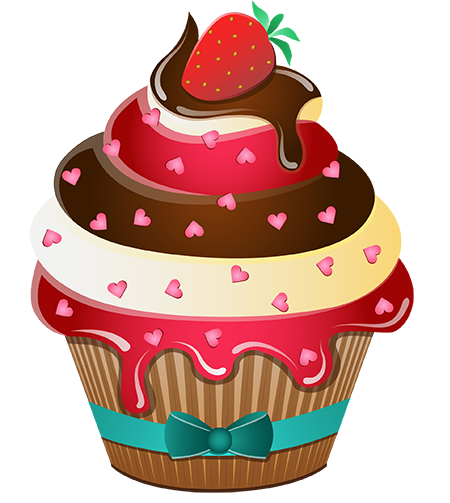 cupcake & bolos stickers