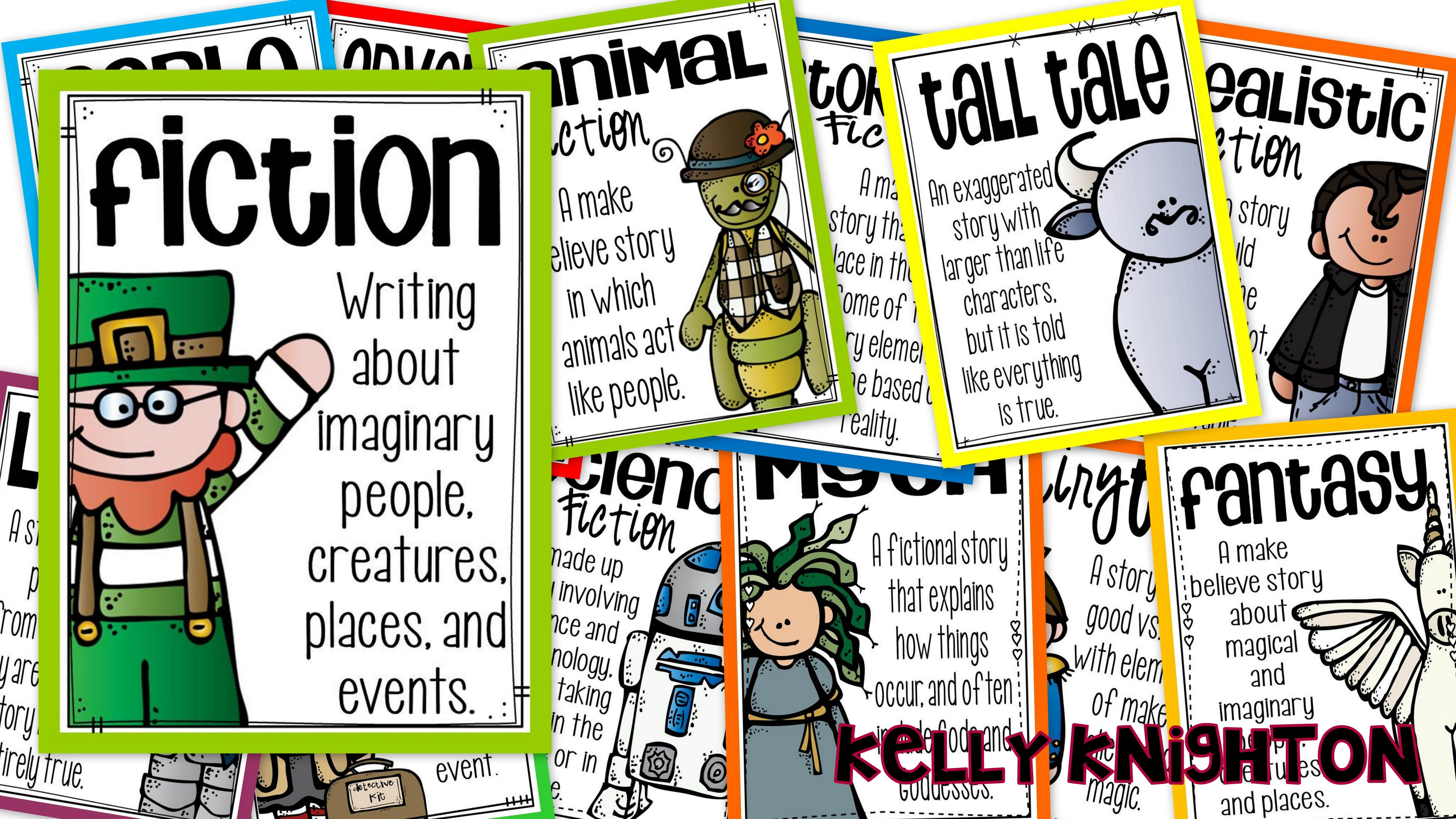 Reading Genre Amp Text Type Posters