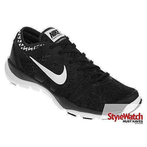 Nike Womens Flex Supreme Tr 3 BlackWhiteAnthracite Training Shoe 8 Women US  >>> See