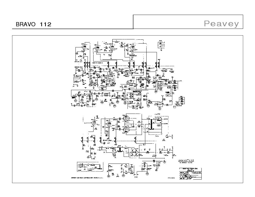 PEAVEY PV-1500 Service Manual download, schematics, eeprom, repair