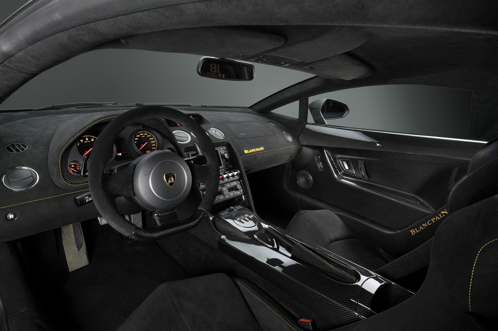 Inside Of Black Lamborghini House Lamborghini Interior