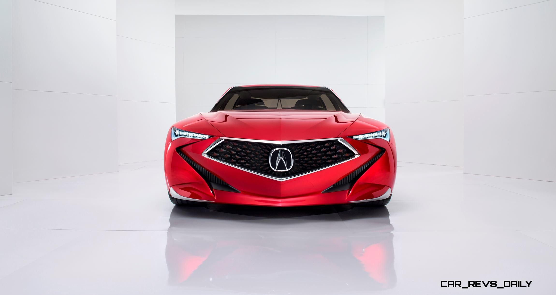 Update1 2016 Acura Precision Concept Design Reboot Ruined By Another Fugly Nose Car Revs Daily Com In 2020 Acura Concept Cars Car