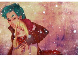 Harry Potter by viria13 on deviantART I'm gonna take a wild guess here and say this is Victoria and Teddy....
