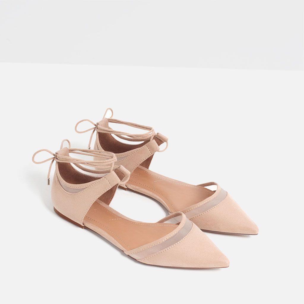 Tout Mode Chaussures En Filet France FemmeZara Talons Voir WdCxBoer