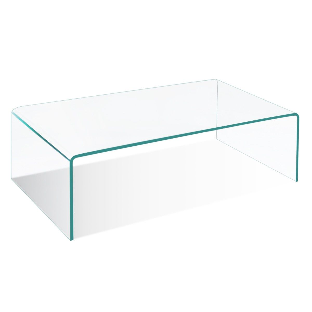 42 0 X 19 7 Tempered Glass Coffee Table Coffee Table Rectangle Modern Glass Coffee Table Glass Coffee Table [ 1200 x 1200 Pixel ]