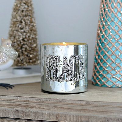 christmas decorations votive candle holdersvotive - How To Decorate Votive Candle Holders For Christmas