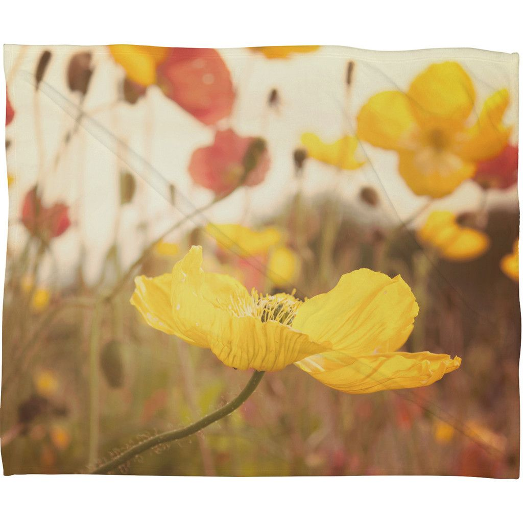 Bree Madden Boho Spring Fleece Throw Blanket | DENY Designs Home Accessories