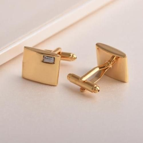 Men's Cuff Links Highly Golden Classic Office Wear New