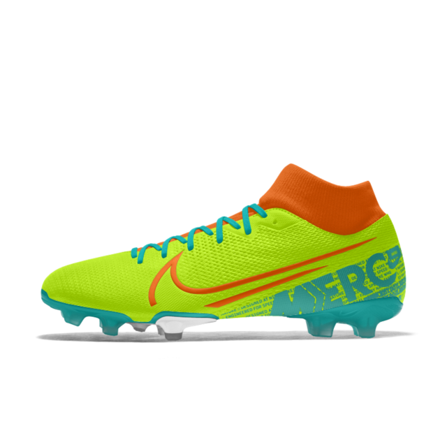 Mercurial Superfly 7 Academy Fg By You Custom Firm Ground Soccer Cleat Soccer Cleats Custom Soccer Cleats Superfly