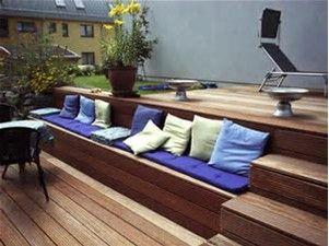 Holzterrasse Mit Stufen | Draußen | Pinterest | Gardens, Decking And  Verandas