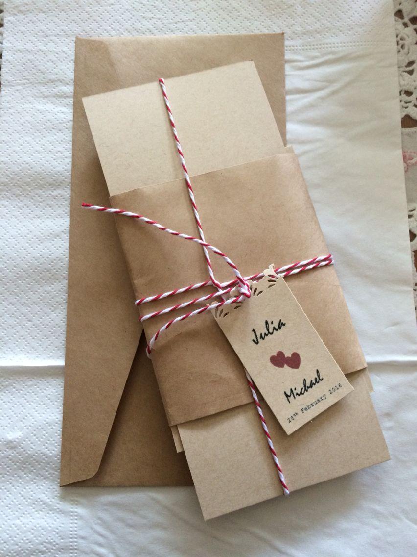 Wedding invitations our diy wedding rustic style pinterest