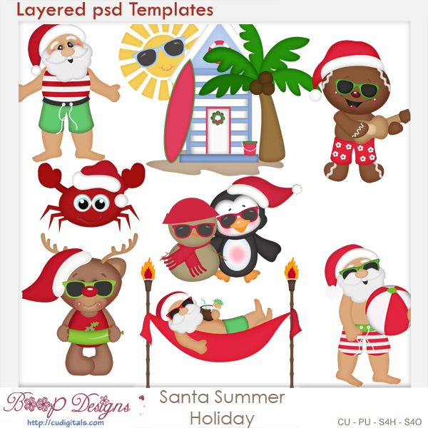 Christmas In July Clipart Free.Pin On Cu Digitals Christmas Winter Digi Scrap Resource