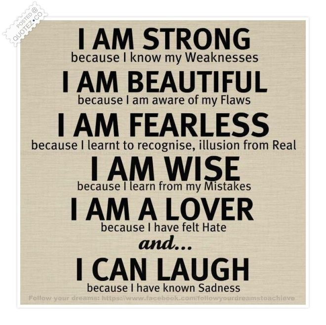 I Am Strong Quote Quotes That I Love Pinterest Quotes