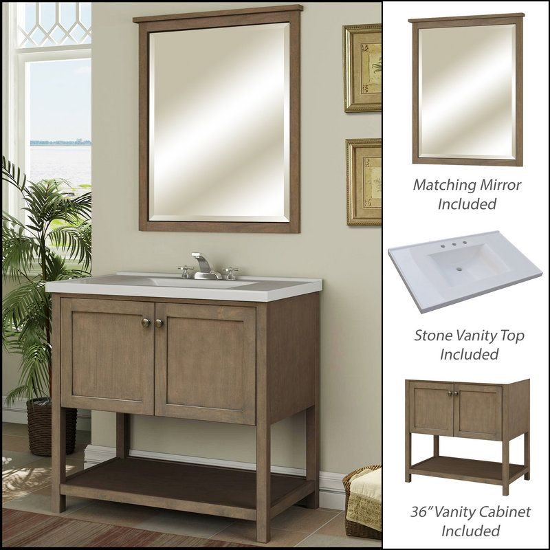 "Design A Bathroom Vanity Online New Miseno Mvan36Com Sand Dollar 36"" Bathroom Vanity Set  Cabinet Design Inspiration"