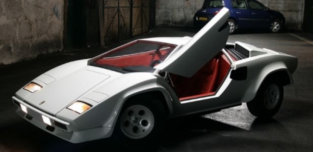 Lamborghini Countach Half Scale Car Kids Ride On Miniature Cars Fantasy Cars