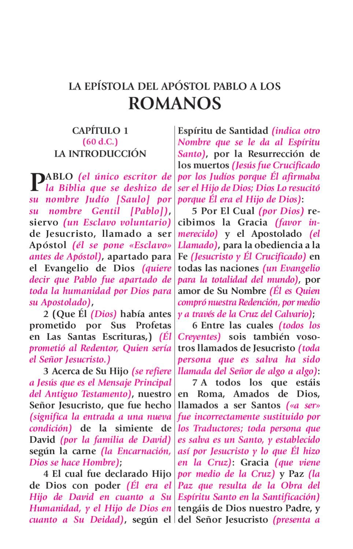 La Biblia De Estudio Del Expositor Romanos Con Imagenes