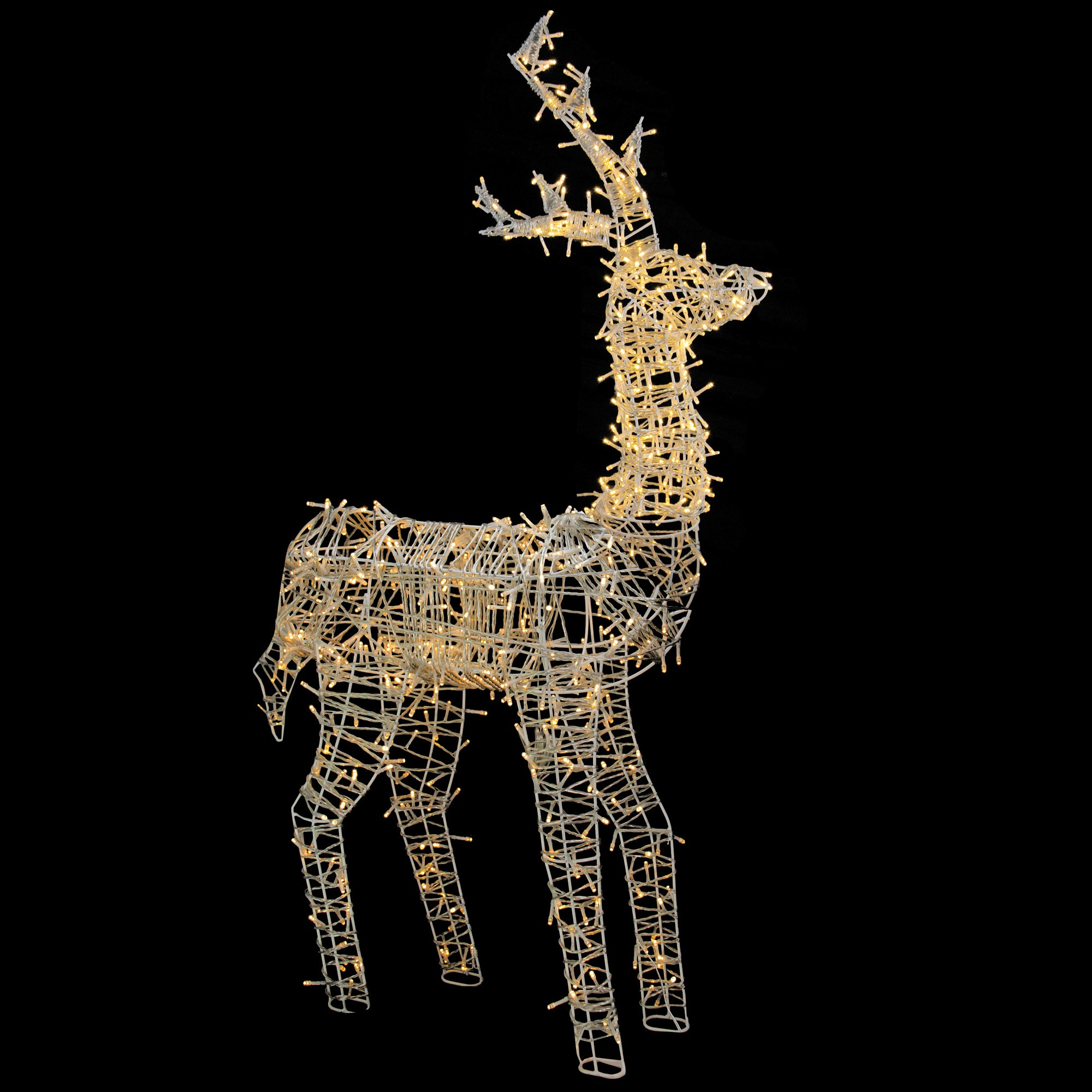 Northlight 60 Led Lighted Upright Standing Reindeer Outdoor