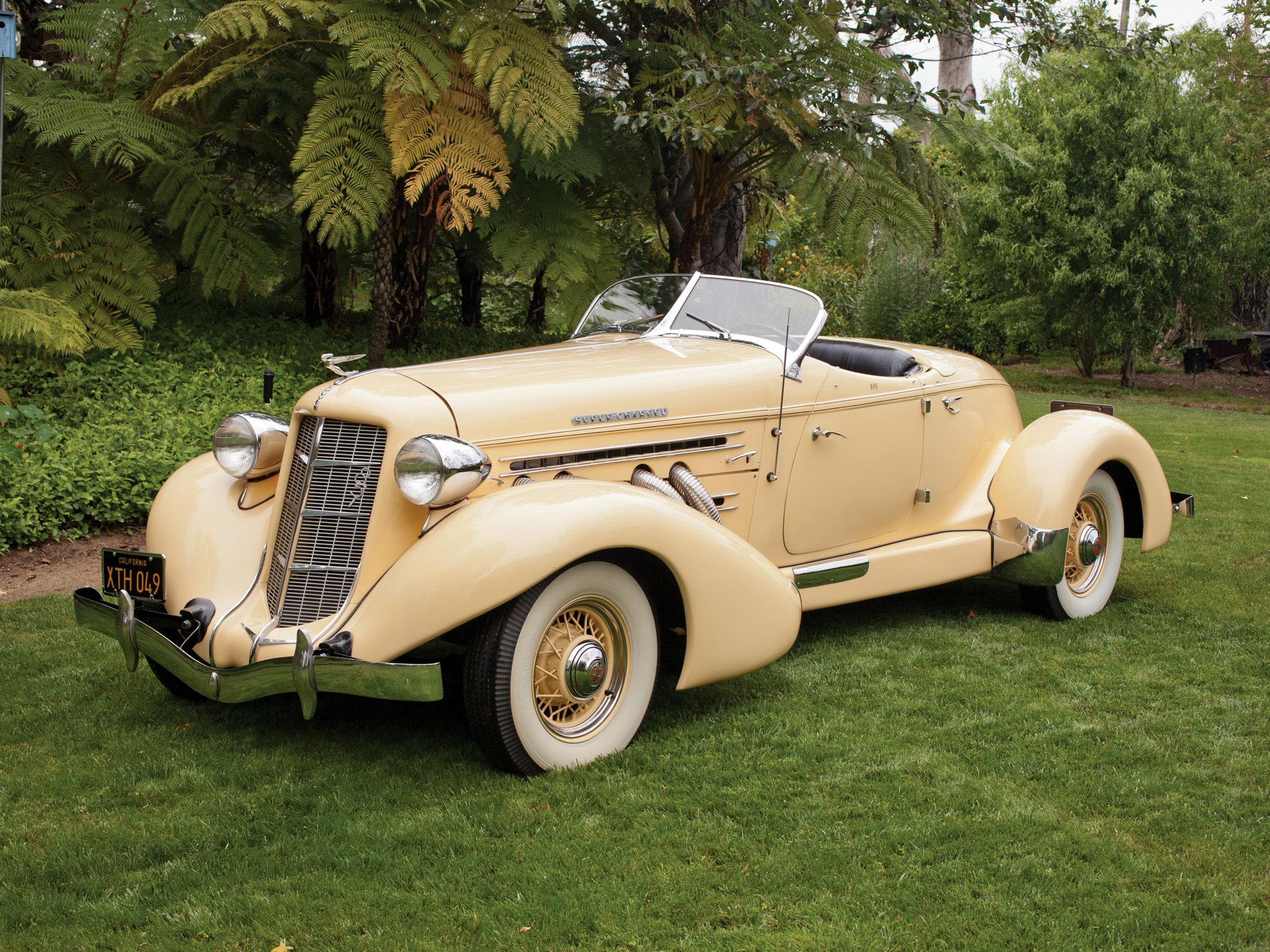 1935 Auburn 851 S-C Boattail Speedster | Classic Cars of the 20th ...