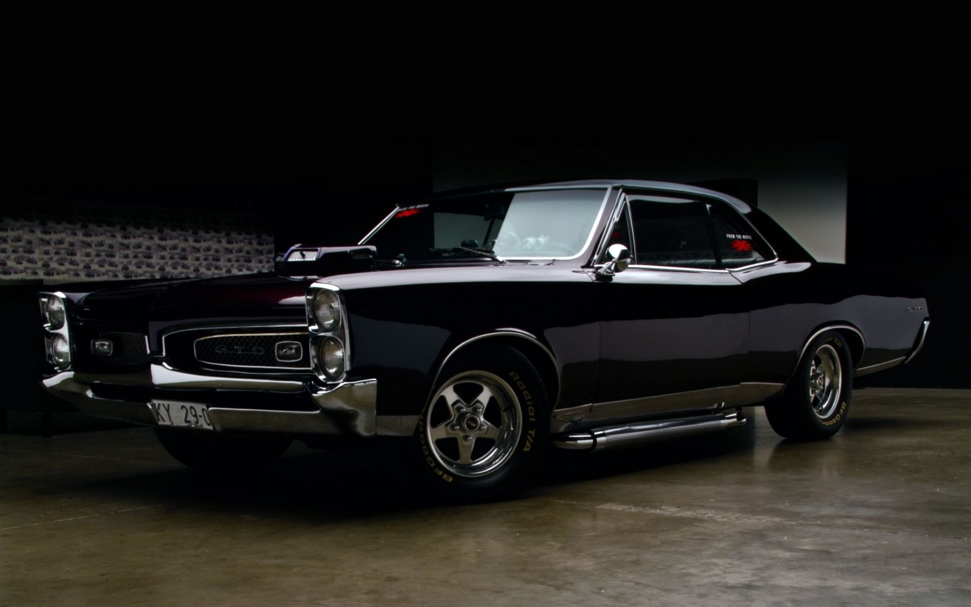 Pontiac Tempest GTO muscle cars hot rod wallpaper background | Bry ...