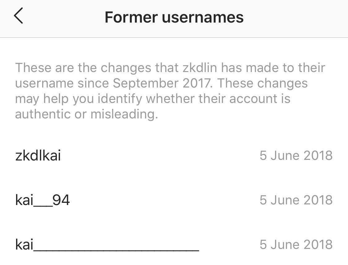 EXO's Kai Instagram former usernames | Exo, Kai, Instagram