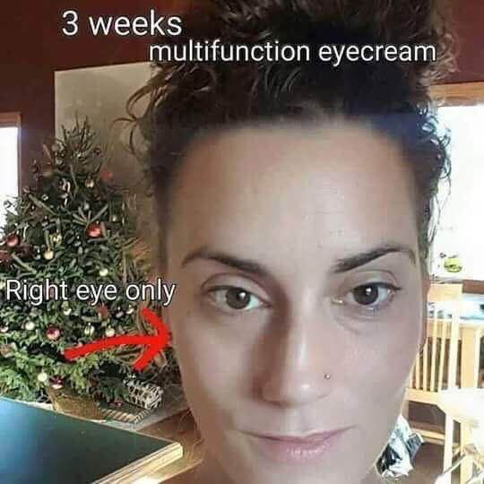 R + F Multi-Function eye cream is AMAZING!!! The Consultants refer to it as Eye Crack! . It targets puffiness, dark under eye circles and fine lines!! It's a must have! mklecroy.myrandf.com
