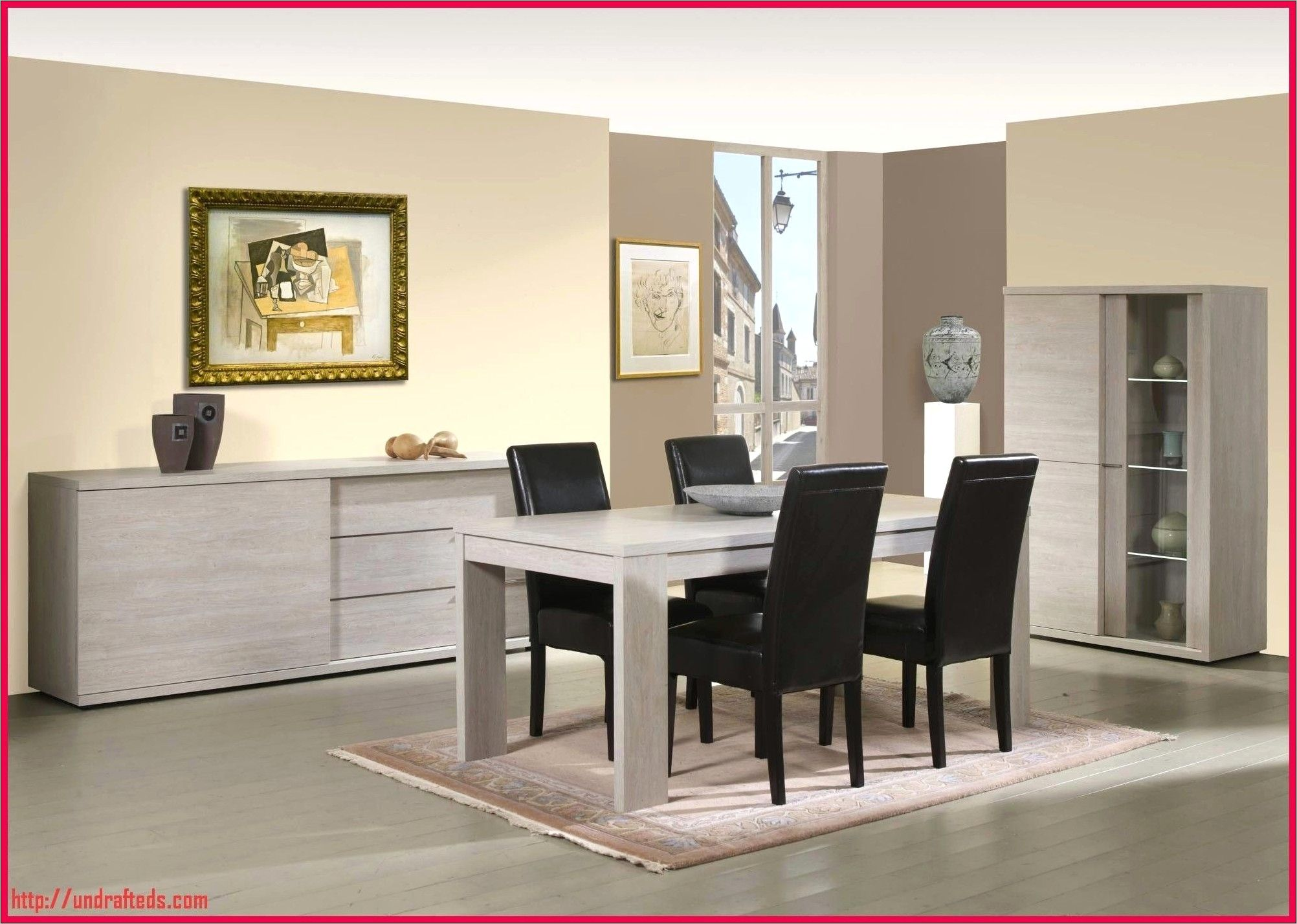 Salle A Manger Moderne Table Chaise Meuble Bas Conforama In 2020 Kitchen Furniture Dining Furniture