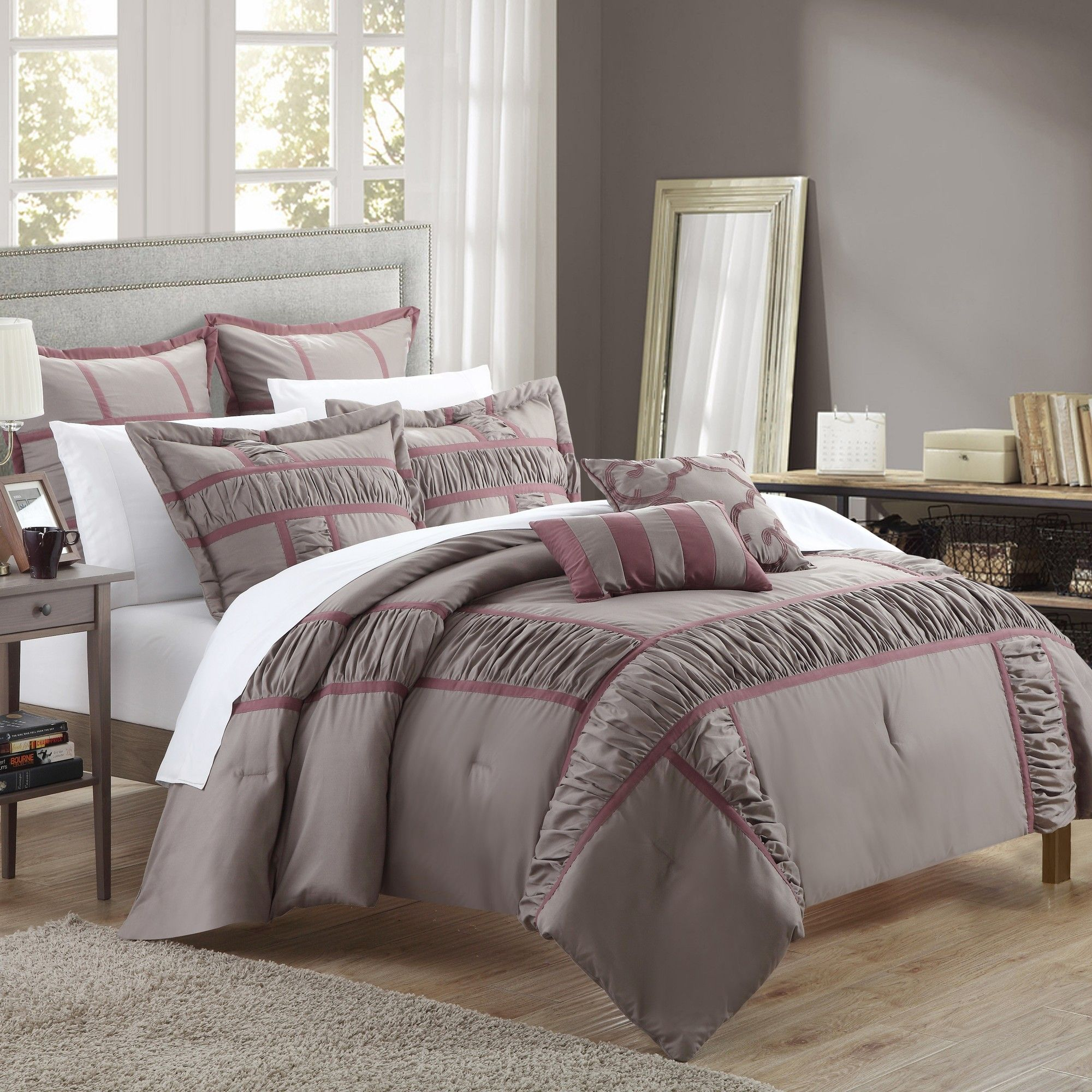 11 Piece April Comforter Set