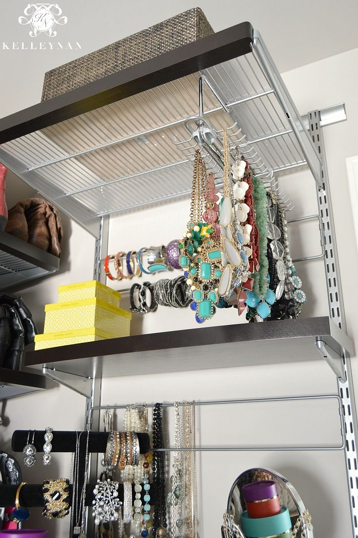 Closet Organization with Elfa System from the